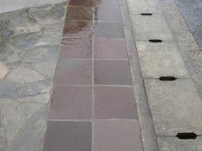 新潟の小さな外構店が本気で目指す日本一の仕事への道のり!第112庭 雨の石貼り
