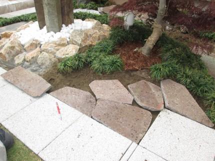 天然石 割り付け2