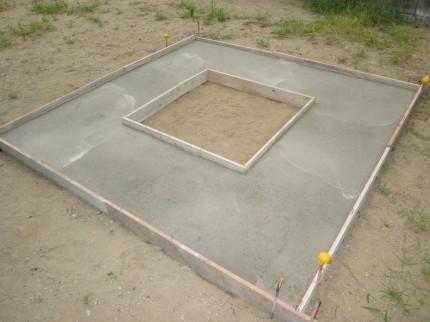 コンクリート硬化後3