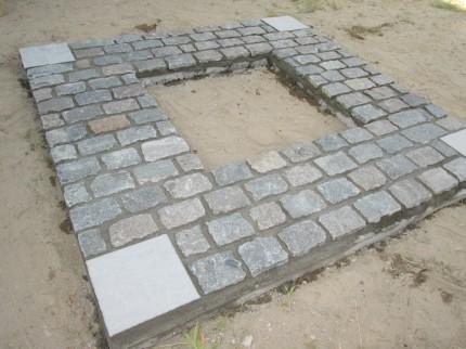 敷き石完成12
