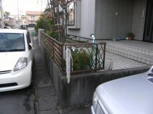 駐車スペースを増やし、自転車小屋が欲しい 新潟市S様邸