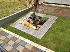 新潟の小さな外構店が本気で目指す日本一の仕事への道のり!第130 庭 植栽囲い