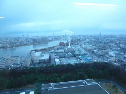 県庁展望回廊からの景色