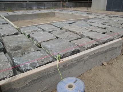 敷き石配列7