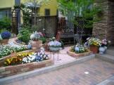花いっぱいのお庭をレンガでリフォーム 新潟市O様邸