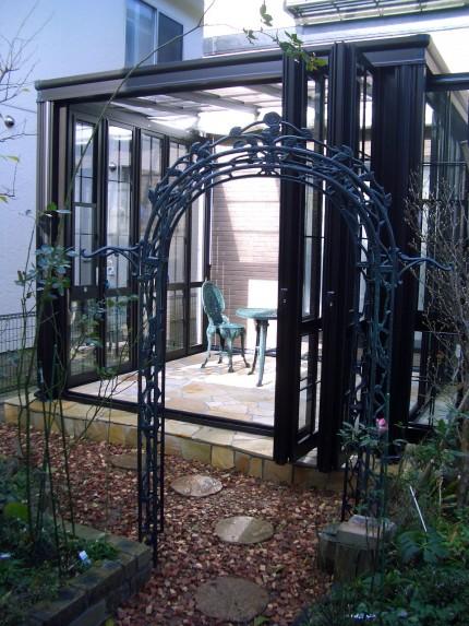 成熟を愉しむ人にふさわしい贅沢なガーデンルーム『暖蘭物語』 新潟市S様邸