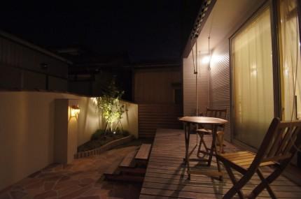 新潟・お庭拝見 リビングからの景色と目隠しを考えたお庭を 新潟市
