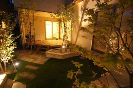 お庭で家族バーベキューを楽しみたい 新潟市中央区 M様邸