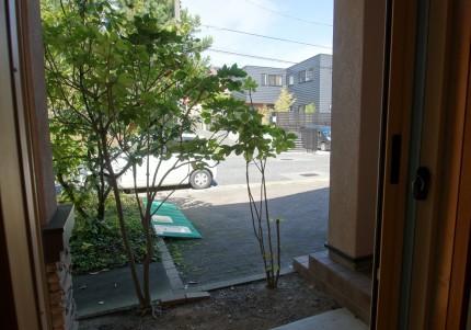 明るい外観へ北向きの外構をリフォーム 新潟市H様邸