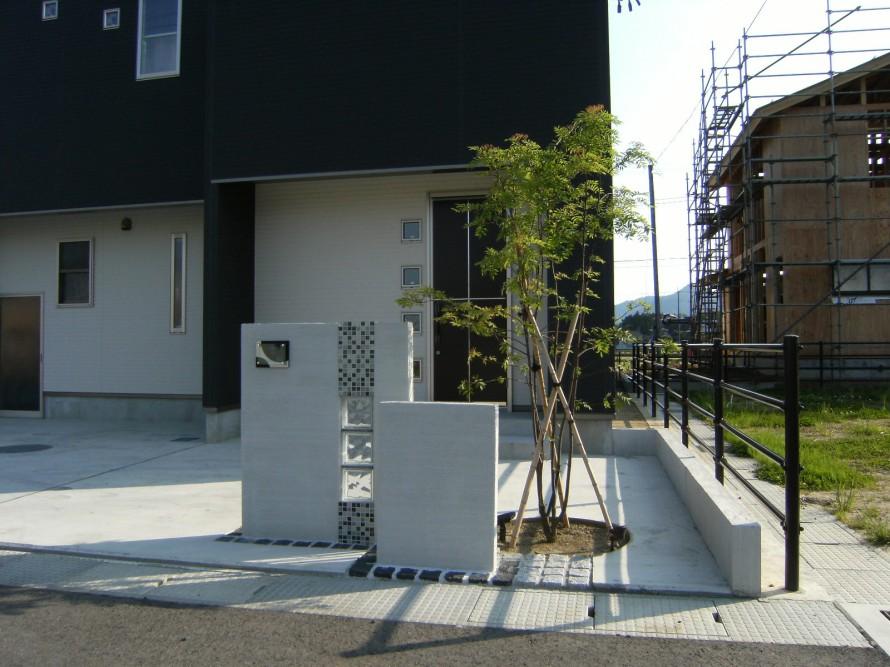 建物にあうシンプルモダンのコーディネート 新潟市Y様邸