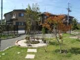 広い庭でもメンテナンス少なめのナチュラルガーデン 新発田市W様邸