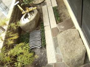 新潟の小さな外構店が本気で目指す日本一の仕事への道のりは、まず天気から!第50庭 ジャパニーズ和モダン 坪庭
