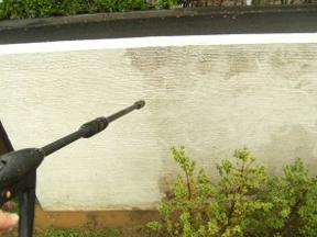 新潟の小さな外構店が本気で目指す日本一の仕事への道のりは、まず天気から!第69庭 汚れてしまった塗り壁を綺麗にリフォーム 前編