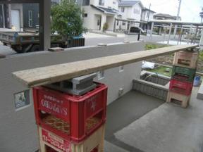 新潟の小さな外構店が本気で目指す日本一の仕事への道のりは、まず天気から!第80庭 台風でも工夫して土間コンクリート