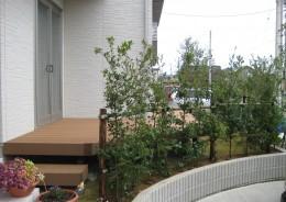 庭でひと時を楽しむツール 新潟市H様邸