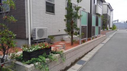 お庭とファサードにこだわりのデザインで目隠しと彩りを SBIC施工写真コンテスト入賞    新潟市 N様邸