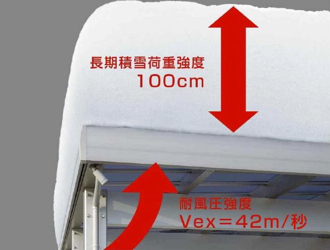 イディオス 耐雪100cm YKK