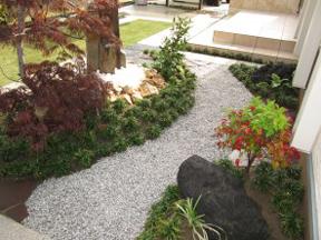 新潟の小さな外構店が本気で目指す日本一の仕事への道のり!第114庭 庭の貼りもの(タイル・天然石) 後編