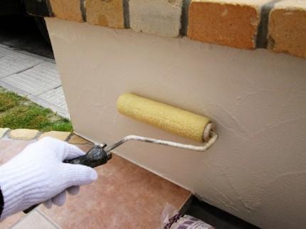 塗り壁 表面コーティング18