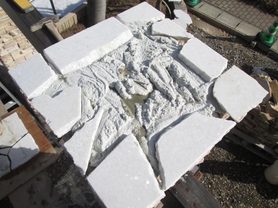 天然石 貼りこみ