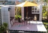 外部の視線を気にせず、お庭にもう一つのリビング 新潟市